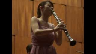 Mozart: Concerto for Clarinet and Orchestra A major, 3rd Mvt: Rondo-Allegro, Yumi Ito, Clarinet