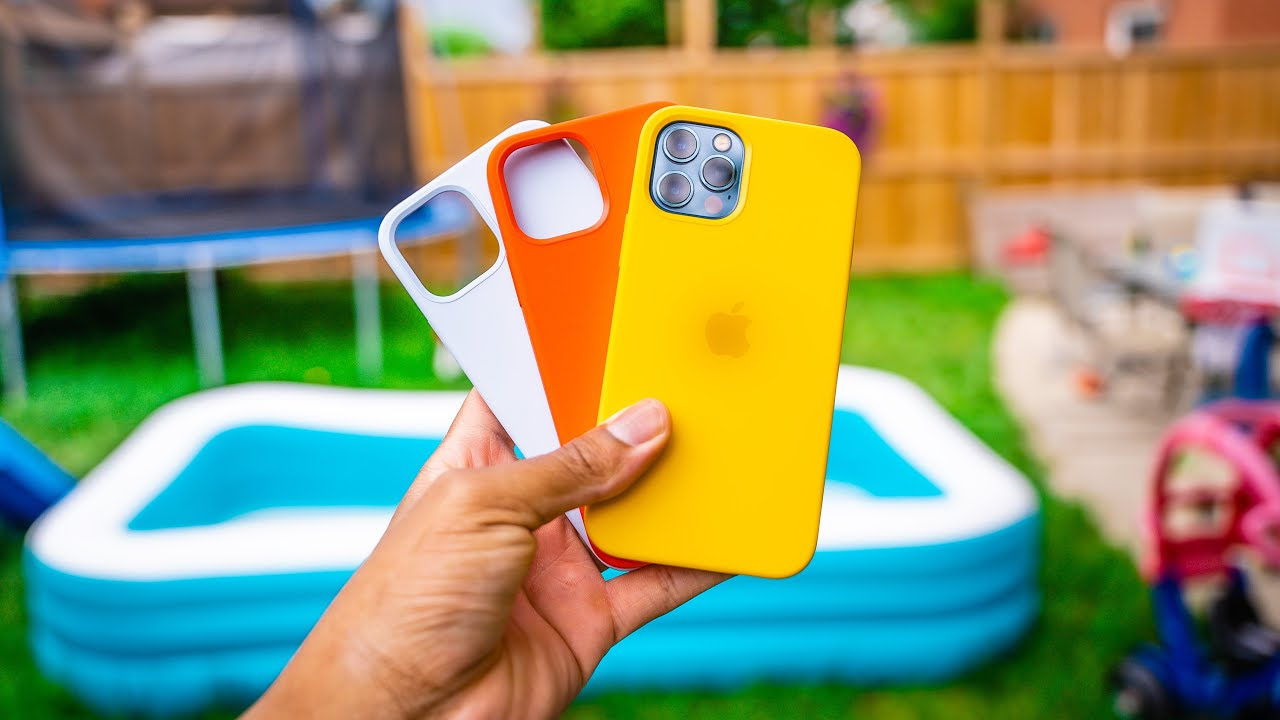 Testing Out All iPhone 12 Summer Apple Silicone Cases 2021