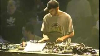 DJ PONE Championnat de France DMC - 2002
