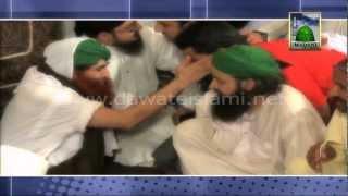 Cricketer Umar Akmal ki Ameer e Ahle Sunnat Maulana Ilyas Qadri se Mulaqat ke Manazir