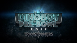The Mini-Dinobot Pre-Bowl