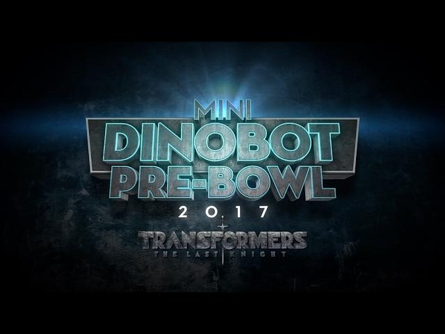 The Mini-Dinobot Pre-Bowl