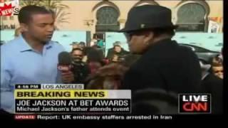 Joe Jackson BET Awards 2009 CNN Interview - arrogant and self serving