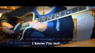 Amelia - Tonight Alive (acoustic instrumental cover) W/ Lyrics