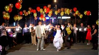 Необычный финал свадьбы! Запуск гелиевых шаров!