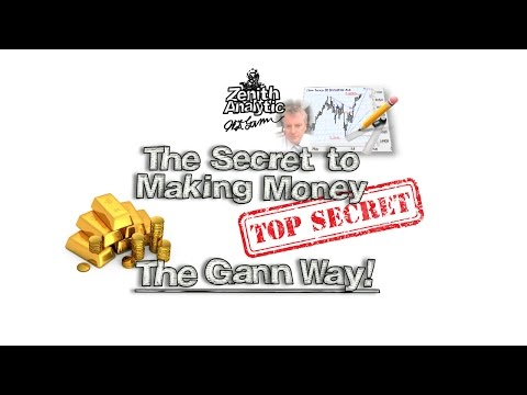 The Secret To Making Money (The WD Gann Way)