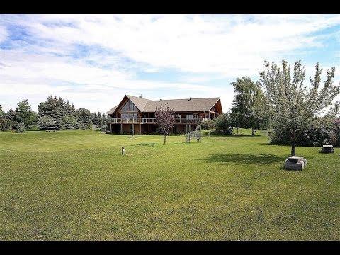 Awe Inspiring Log Home in Alberta, Canada