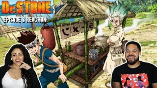 RAMEN FOR THE WIN! Dr. Stone Episode 8 REACTION!!!