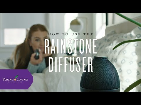 how-to-use-the-rainstone-diffuser-|-young-living-essential-oils