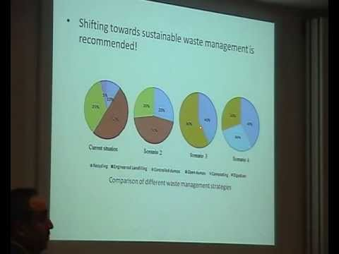 Phd thesis presentation, Toward sustainable solid solid waste management in Jordan