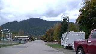 Salmo BC Canada - Driving in British Columbia - Small Village/Town in Kootenay Region