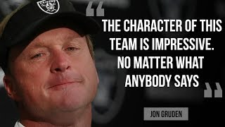 Oakland Raiders coach Jon Gruden on 24-21 comeback against Pittsburgh Steelers