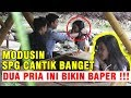 🔴 NEKAD BANGET !!! BERANI PEGANG RAMBUT SPG CANTIK INI