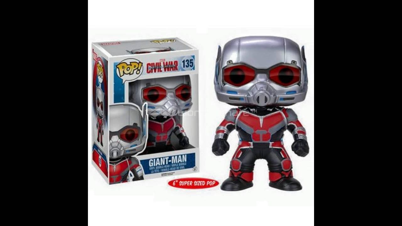 Funko Pops Revealed For Captain America Civil War Giant