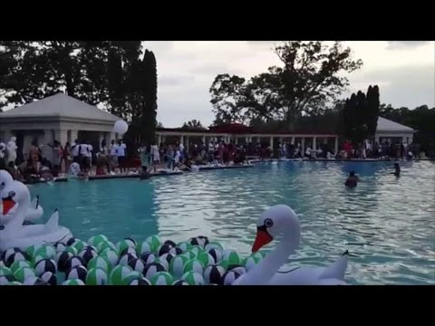 Rick Ross' mmg pool party at his Atlanta mansion
