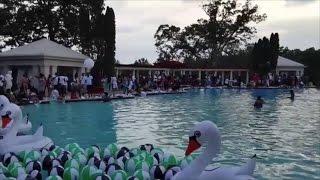 Download Video Rick Ross' mmg pool party at his Atlanta mansion MP3 3GP MP4