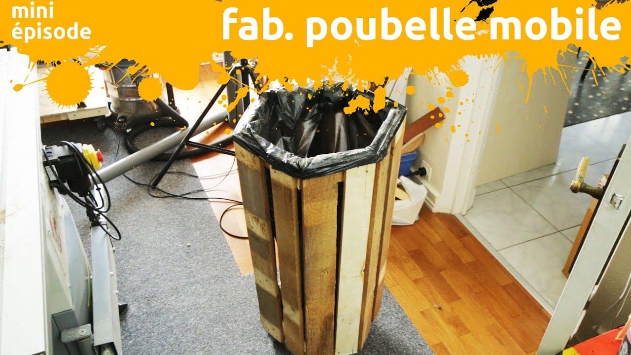 fabrication d\'une poubelle à roulette à base d\'osb et de bois de ...