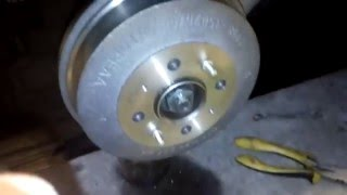 Ремонтируем  задние  тормоза на  Ваз 2108, 2109,2110,2112 ,2170 (ручник,колодки,диски,барабаны)