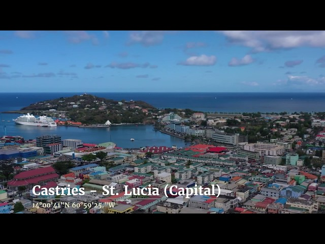 Another Caribbean island - St.  Lucia