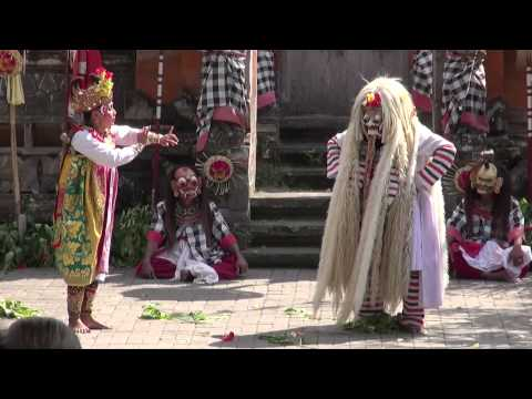 Short extracts of Barong (Bali - Indonesia)