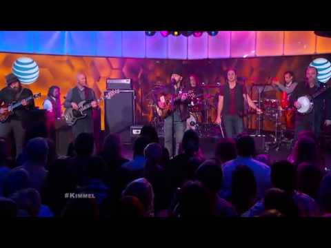 Zac Brown Band Performs  Dress Blues