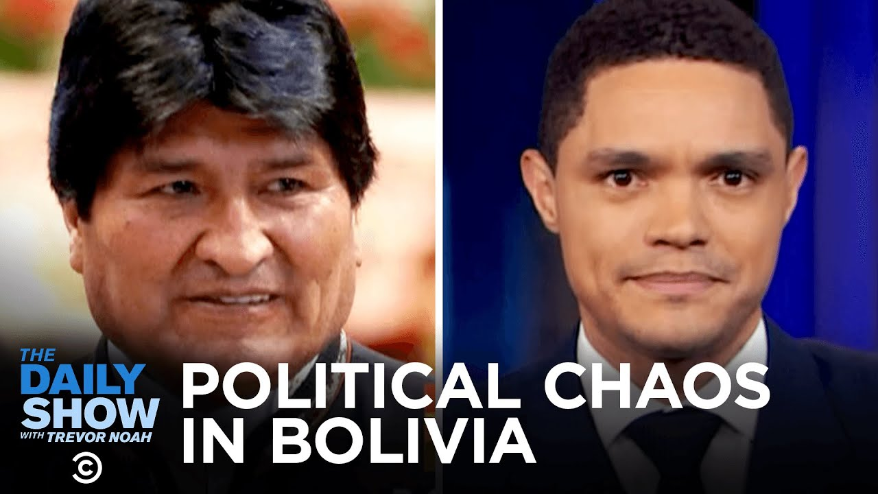 Sexism Claims Against Apple's Credit Card & Political Chaos in Bolivia   The Daily Show