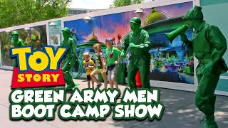 NEW Toy Story Green Army Men Boot Camp Show - Disney's Hollywood Studios