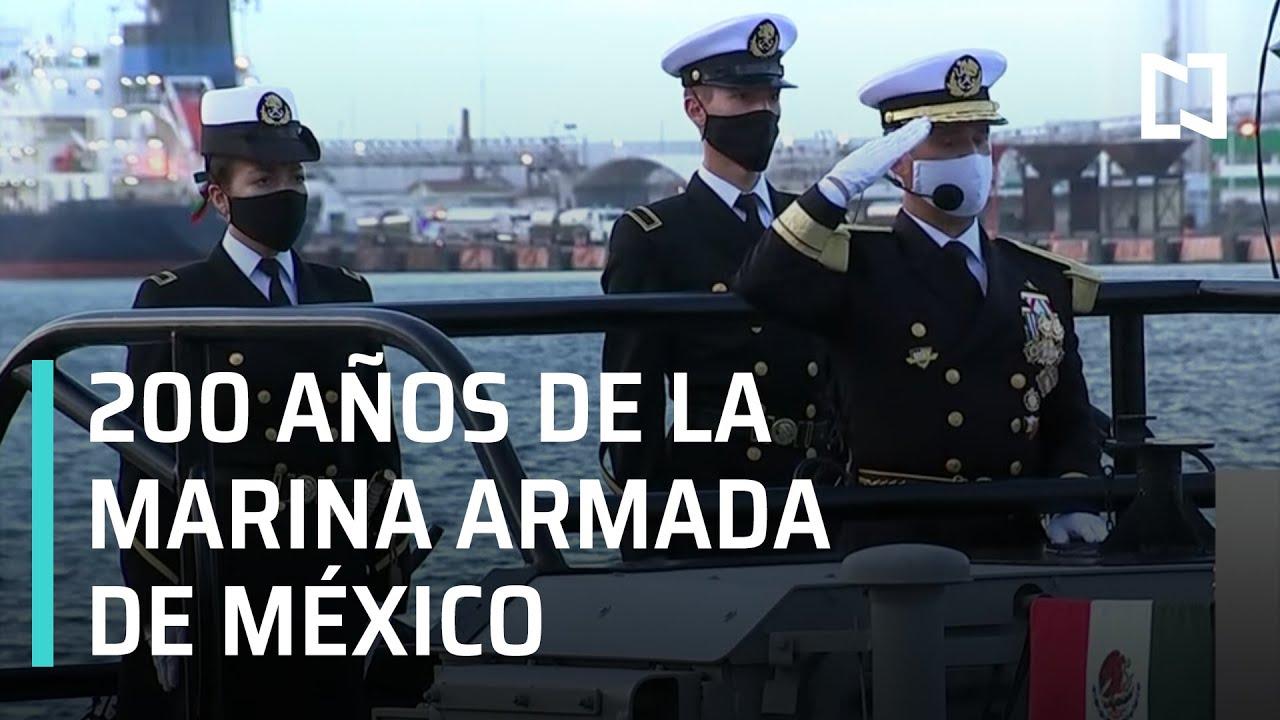 Desfile por 200 años de la Marina Armada de México