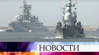 Ровно неделя остается до поистине грандиозного события - Военно-морского Парада в Санкт-Петербурге.