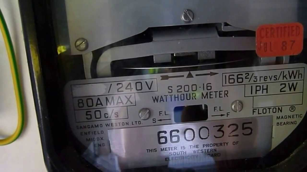 How To Make Your Electric Meter Spin Backwards Youtube