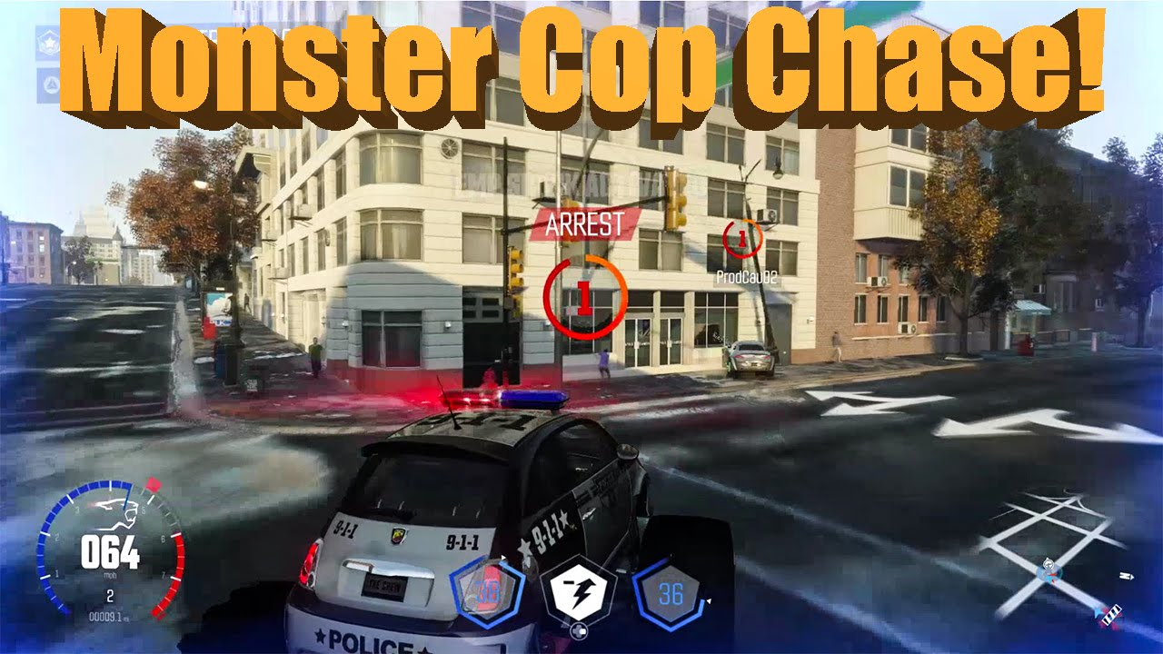the crew calling all units monster fiat cop chase new gameplay youtube. Black Bedroom Furniture Sets. Home Design Ideas
