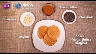USANA Prematch Snacks | Sam Stosur