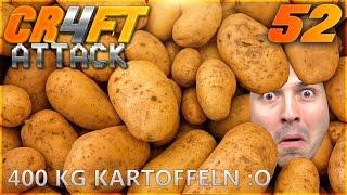BADEN IN 400 KG KARTOFFELN? xD - Craft Attack 4 - #52 | ZanderLP