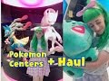 Lovely Lor visits 3 POKEMON CENTERS + Haul