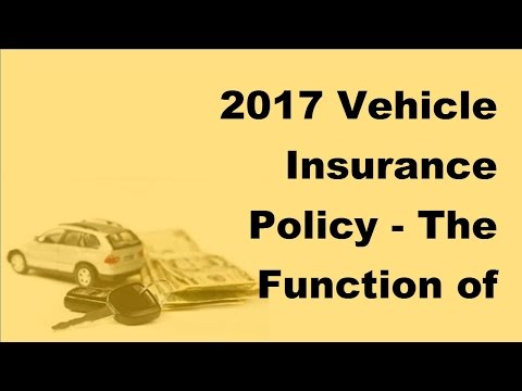 2017 Vehicle Insurance Policy | The Function of Multi Car Insurance Comparison These Days