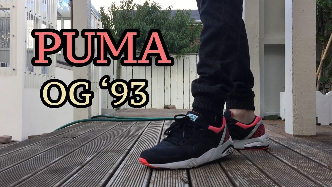 Puma CREAM R698 OG  93 On Feet - YouTube d377b3c6f