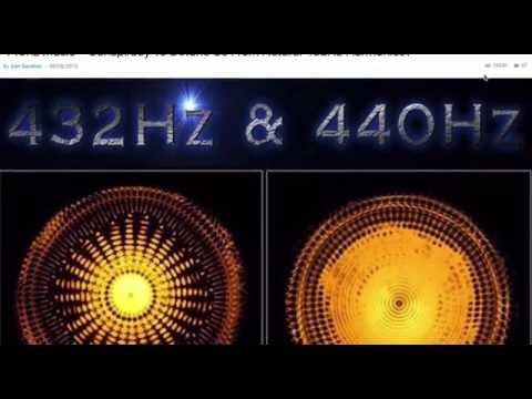 432 hz The God note our natural frequency???