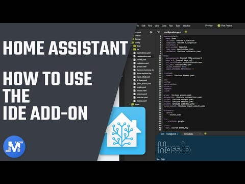 How-To use the IDE add-on for Home Assistant • JuanMTech