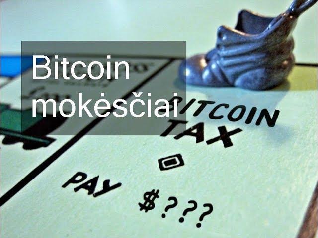 bitcoin mokesčiai