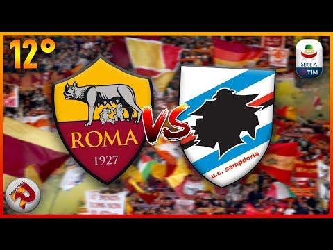 ROMA - Sampdoria   Diretta LIVE (Serie A) 2018/2019