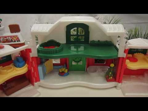 JENL Treasures' Christmas Fisher Price Little People Collection