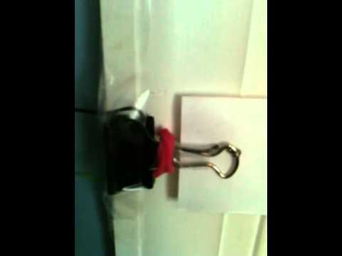 My Homemade Door Alarm - YouTube
