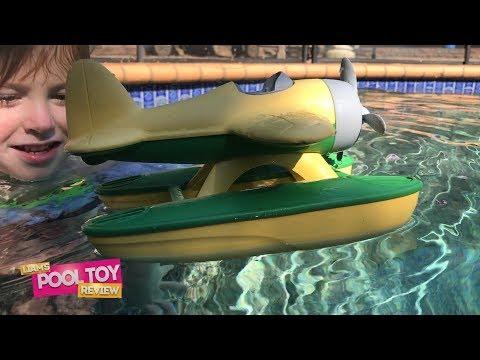 Liam's Pool Toys Review   Green Toys™ Seaplane