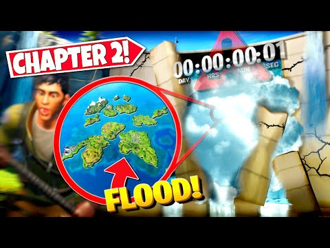 *NEW* FORTNITE SEASON 2 FLOOD DATES & TIMES *RELEASED* CHAPTER 2! ALL DETAILS & DATES!: BR