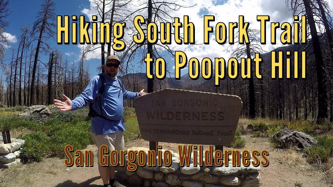 South fork trail san gorgonio