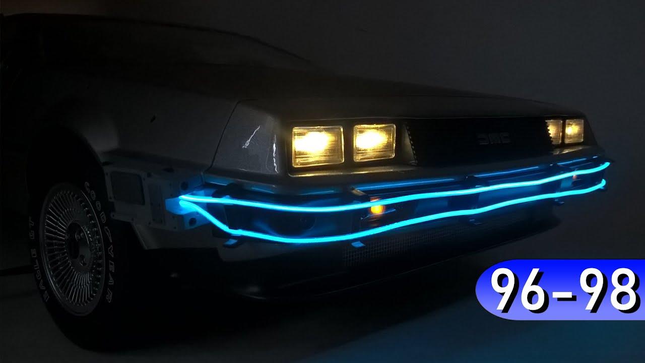 Назад в Будущее, ДеЛориан (96-98) - Холодный НЕОН