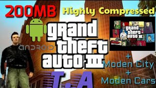 (200MB)How To Download GTA 3 For Android Highly Compressed