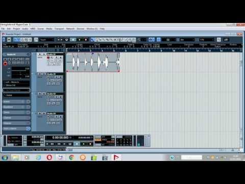Como adicionar pistas e gravar no nuendo de forma simples e prática