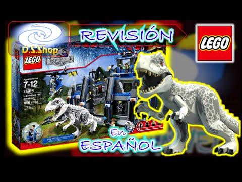 LEGO Jurassic World Indominus Rex Breakout Set 75919 Review Lego en Español