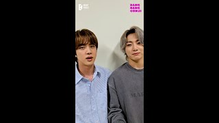 BTS (방탄소년단) 'BANG BANG CON21' Jin & JungKook #shorts